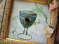 21.カルロビバリのワイングラス